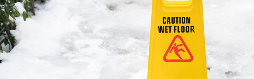 What should you blame for slip-and-fall accidents due to icy premises: Raindrops, howling winds, or gravity?